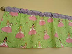 Ballerina, Princess Valance Curtain. Gir...