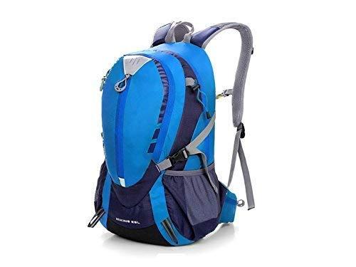 Borse all' aperto, per esterni e interni unisex sport outdoor impermeabile zaino trekking arrampicata borsa (blu)