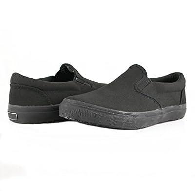 Townforst Sandy Slip Resistant Black Sunbrella Water Resistant Non Slip Waitress Shoes