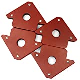 4 Pieces of CMS Magnetics Magnetic Welding Holder 25 LBS Holding Power