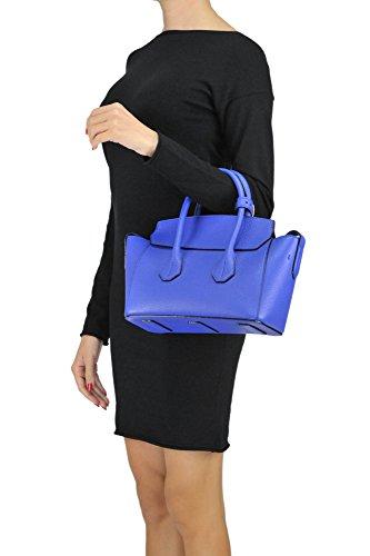 Bally Borsa A Mano Donna MCGLBRE03066E Pelle Blu