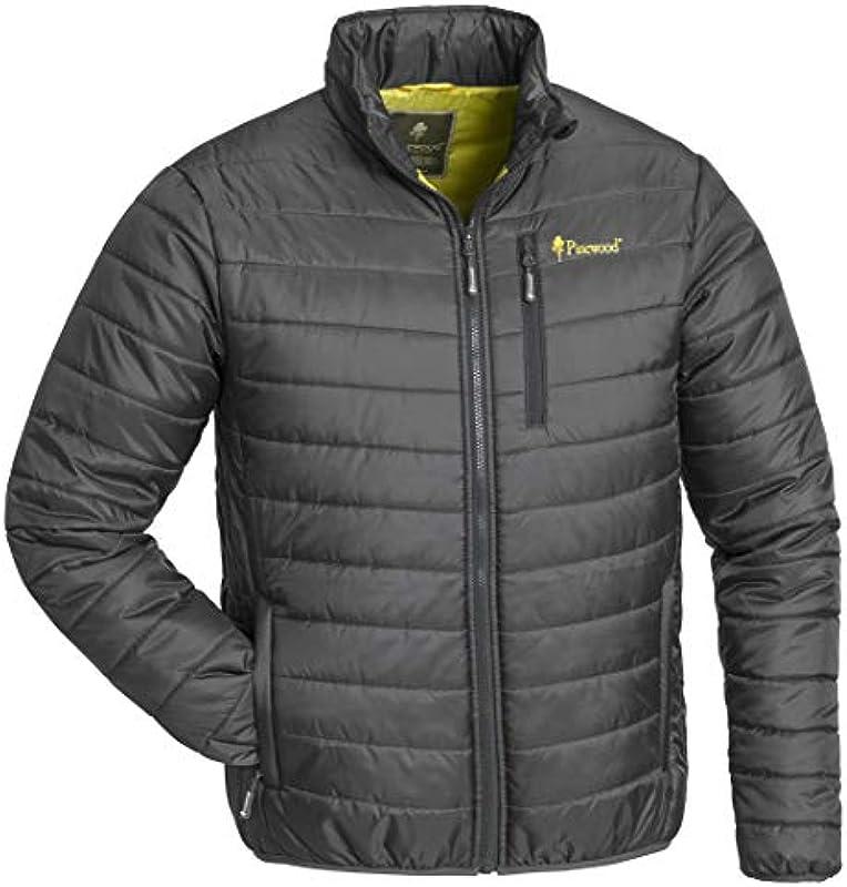 Pinewood Himalaya wyściełana kurtka pikowana lekka ciepła mała chowana szara/żÓłta - xxl: Odzież