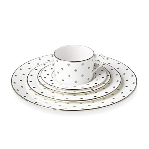 Kate Spade New York 815505 Larabee Road Platinum 5 Piece Place Setting