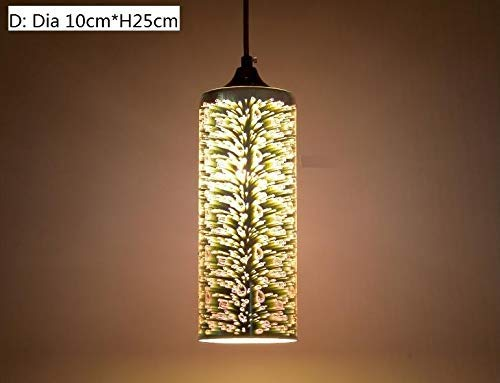 Exhibition Light D Model : Fashion creative 3d stained glass pendant light personalized art