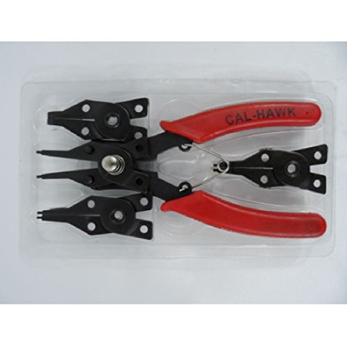 New 4 in 1 Snap Ring Pliers Plier Set Circlip Combination Retaining Clip
