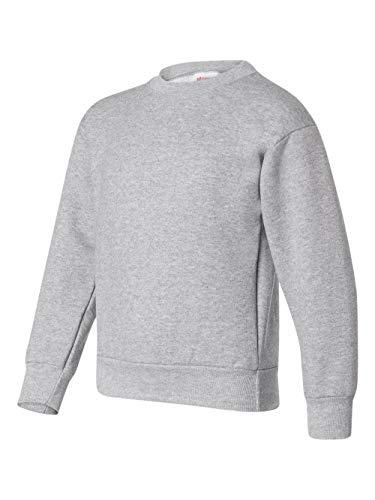 Hanes ComfortBlend Youth Crewneck Sweatshirt 7.8 oz, L-Light ()