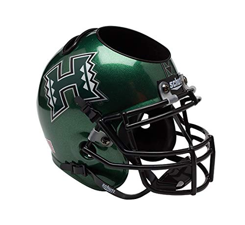 Hawaii Warriors Helmet (NCAA Hawaii Rainbow Warriors Helmet Desk Caddy)