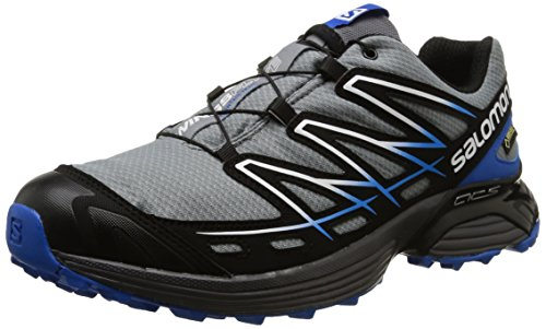 Salomon Wings Flyte GTX, Scarpe Sportive, Uomo Pearl Grey/Black/Bl