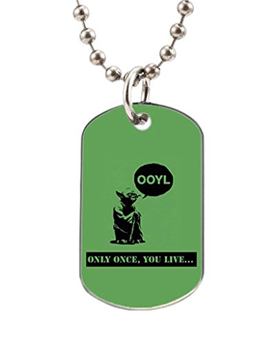 Turekk Custom Motivational Personalized Stainless Steel Dog Tag Pet ID Tag for Dogs and Cats
