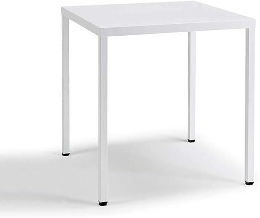 Scab Design Summer mesa cuadrada de 80x80 cm blanca: Amazon.es: Hogar