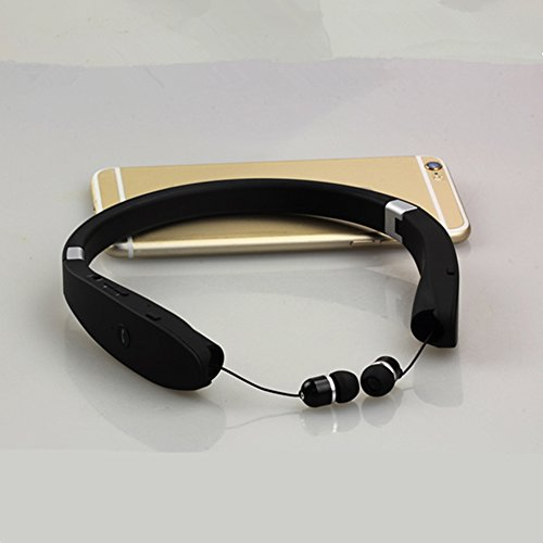e94ef721dd6 SX-991 Sports Bluetooth headphones With Microphone Anti-lost Retractable  Foldable Neckband Wireless Headset