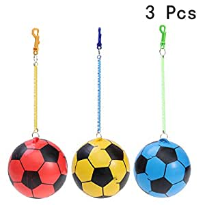 Amazon.com: STOBOK - Balón de fútbol con cadena elástica y ...