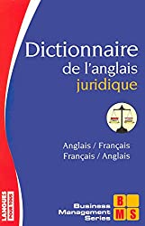 Dictionnaire de l'anglais juridique