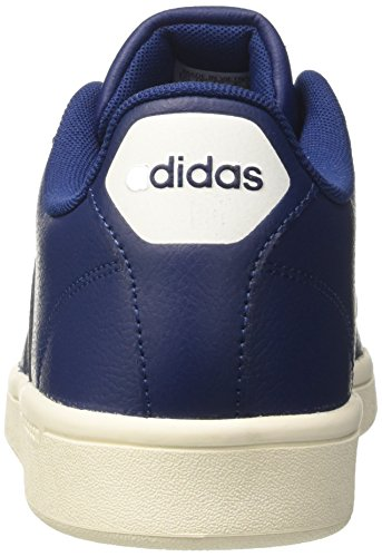 Sneaker Adidas Herren mysblu Cloudfoam ftwwht Blau Advantage mysblu wwaHt