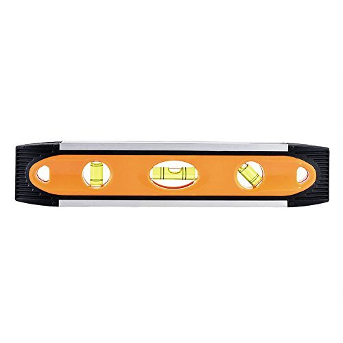 Spirit Level / Deallink Magnetic Torpedo Level with Easy Readability, Accurate Visibility / Waterproof and Durable Aluminum Frame for Constructions / Yellow by (Accurate Aluminum Level)
