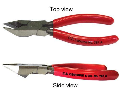 UJ Ramelson Co C.S. OSBORNE 787A Side Bevel Cutter Staple Remover Plier Upholstery Tool