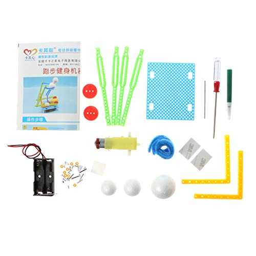 - KUKALE DIY Toy Electric Fitness Robot Physical Science Experiment Kits Educational Technology Invention Toy