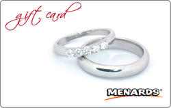 Menards Gift Card - Wedding Ring at Menards®