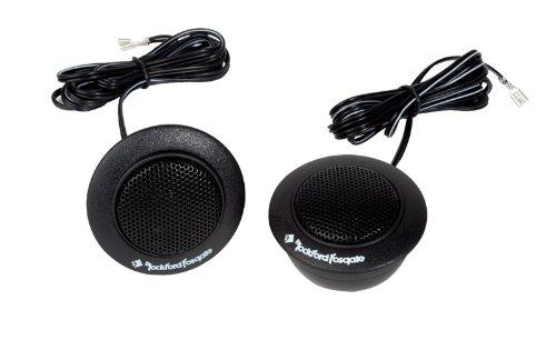4) Rockford Fosgate R1T-S 1'' 160 Watts Component Car Audio Tweeters System Kit