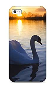 Nora K. Stoddard's Shop 2015 Tpu Case Cover Compatible For Iphone 5c/ Hot Case/ Mute Swan PROF45O98K86SRGF