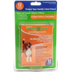 Sentry HC Worm X Medium to Large Dogs 12 count, My Pet Supplies