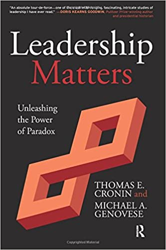 Leadership matters unleashing the power of paradox thomas e leadership matters unleashing the power of paradox thomas e cronin michael a genovese 9781612051437 amazon books fandeluxe Images