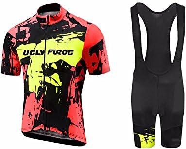 Uglyfrog Ciclismo Maillot Hombres Jersey y Pantalones Cortos Bib ...