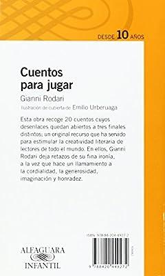Cuentos para jugar Serie Naranja. A partir de 10 años: Amazon.es: Rodari, Gianni, Santos, Carmen: Libros