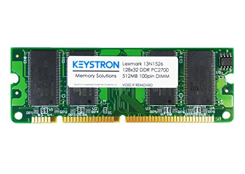 Keystron 512MB DDR 100-pin printer DIMM, ONE 512MB modules by, LLC by Keystron