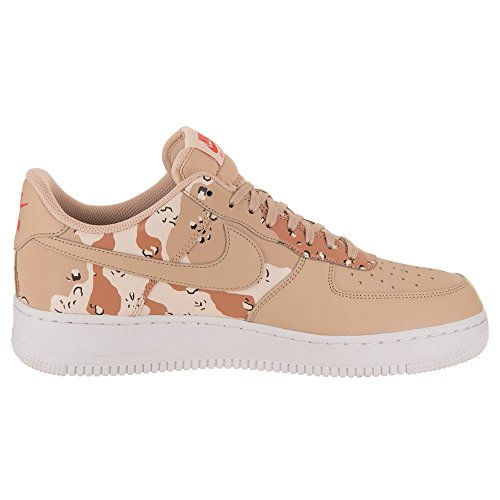 Nike Mens Air Force 1 07 Low Camo Shoes Bio Beige Orange Quartz Terra Orange 823511 202 Size 13