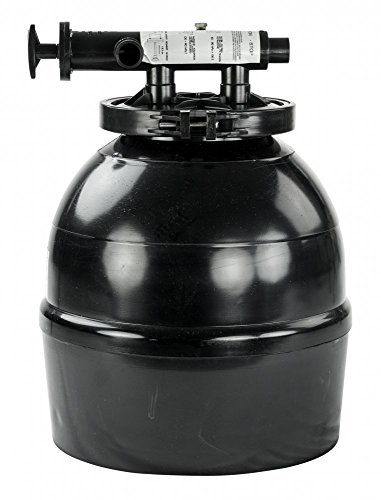 Rx Clear Liberty 14 Inch Sand Filter for Above-Ground Steel Wall and Intex Style Swimming Pools | Corrosion Proof | Pools Up to 8,000 Gallon | Includes Hoses and Clamps