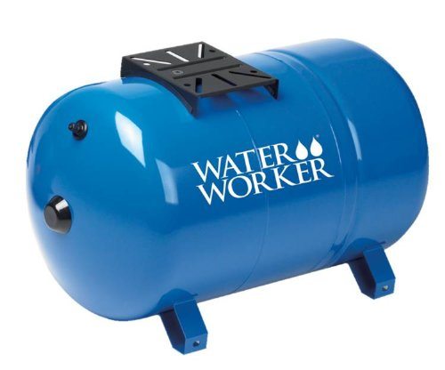 - WaterWorker HT20HB Horizontal Pressure Well Tank, 20-Gallon, Blue