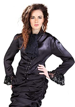 Steampunk Tops | Blouses, Vests, Crops, Shrugs the Wickfield Blouse $33.95 AT vintagedancer.com