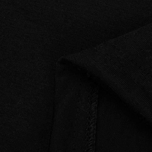 Rotondo Tops Donna Lunghe Colori Solidi Eleganti Fashion Giovane Camicia Schwarz Con Cerniera Shirts Camicetta A Casual Collo Maniche Base Scavare Autunno Tshirt Ragazze Adattamento vCnWpq