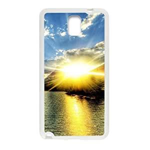 Sunshine sea charming scenery fashion phone case for samsung galaxy note3 wangjiang maoyi