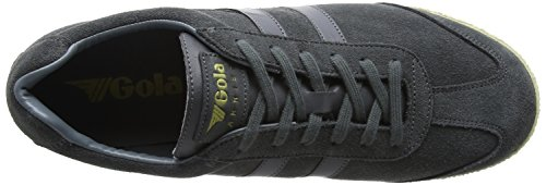 Gola Mens Harrier Fashion Sneaker Graphite/Graphite/Off-white UpgBis