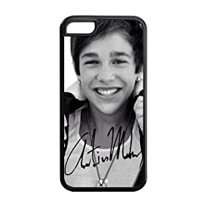 Hot Sell Austin Mahone Design TPU Case Back Cover For Iphone 5c iphone5c-NY1134