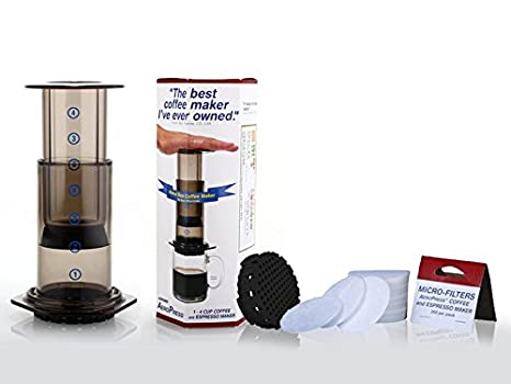 Aerobie AeroPress cafetera eléctrica 700 filtros con filtro ...