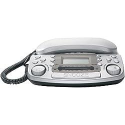 Xact Communications XC1903SL Caller ID Telephone with Radio Alarm Clock