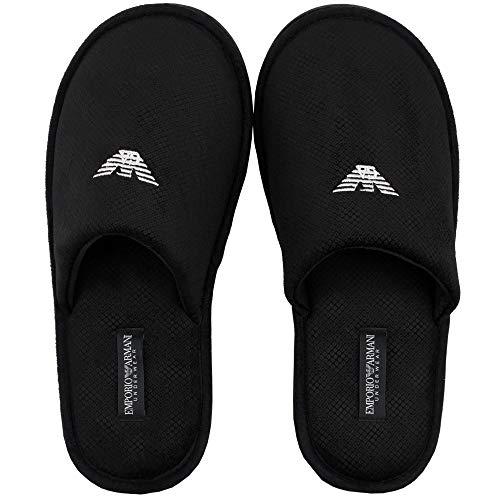 Loungewear Armani Slipper Black 111377 8a577 Emporio nP0wOk