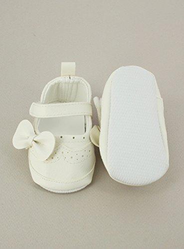 Hausschuhe baby Mädchen Elfenbein–Produkt Gespeichert und verschickt Schnell seit Frankreich Ivoire - Ecru