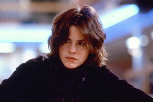 Ally Sheedy 24X36 Color Poster The Breakfast Club At Desk