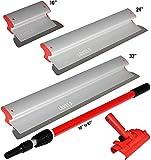 """Drywall Skimming Blade Set - 10"""", 24"""" & 32"""" Blades"""