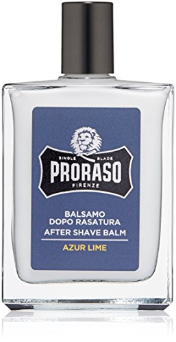 Proraso Single Blade After Shave Balm, Azur Lime, 3.4 fl. oz