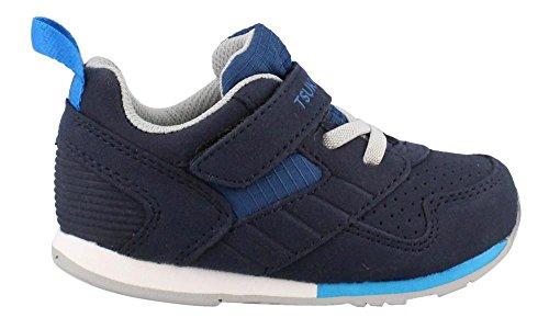 TSUKIHOSHI Boy's, Racer Sneakers Navy/Blue 7.5 ()