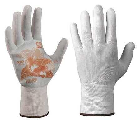 Glove Liners Nylon/Polyester L Wht Pr by TurtleSkin (Image #1)