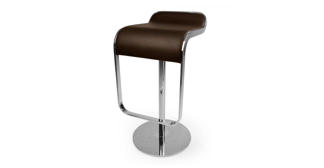 Amazon.com: Kardiel Lem Piston Barstool, Choco Brown Italian Leather:  Kitchen U0026 Dining Amazing Ideas