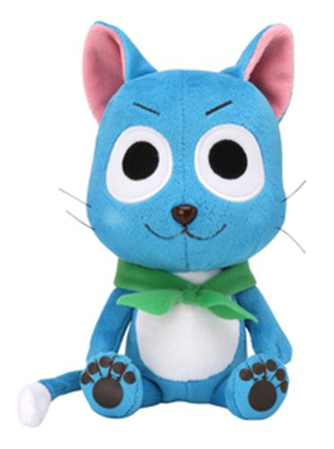 "Fairy Tail Happy Plush 7"" Officially Licensed by Sekiguchi"