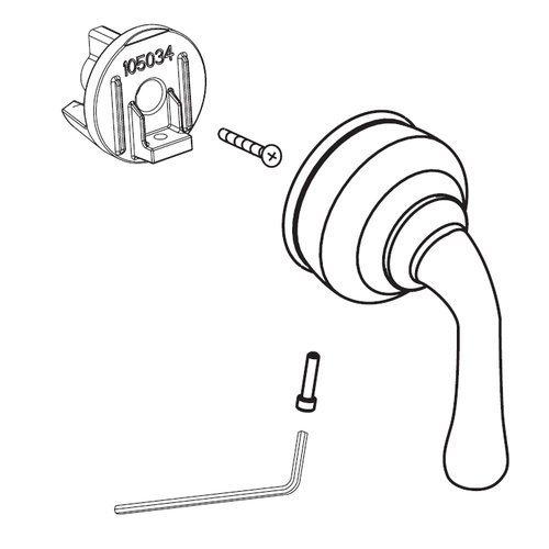 Handles Faucet Part Hub - Moen 95626 Replacement Part