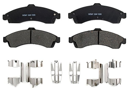 ACDelco 17D882CH Professional Ceramic Front Disc Brake Pad Set ()